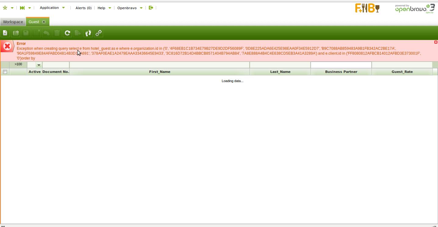 0016543: Window created with error on module - Openbravo